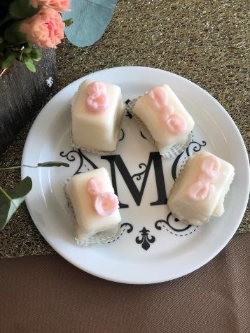 "Coordinating ""M"" Dessert Plates!"